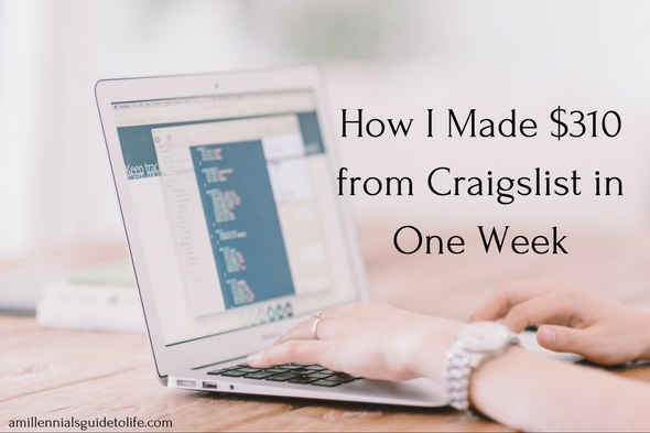 How I Made $310 From Craigslist Gigs in One Week - A